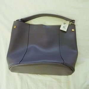 A New Day NWT Lavender Large Bucket Tote Purse